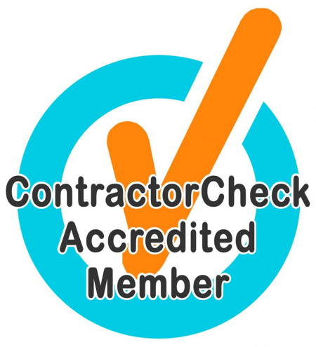 Sharp Property Services in Edmonton is a Contractor Check Accredited Member